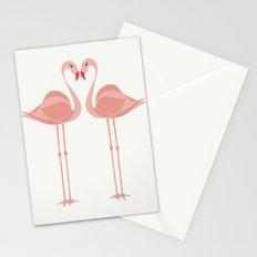 Flamingos Tropical Birds Paradise Stationery Cards