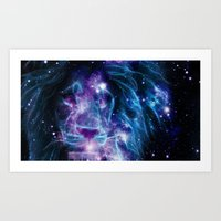 leo Art Prints featuring Leo by 2sweet4words Designs