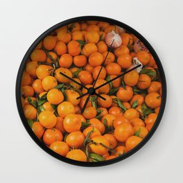 clémentine feuille Wall Clock