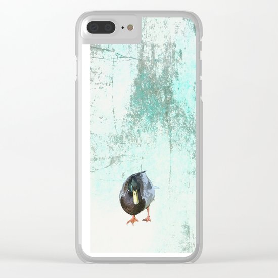 Chillin' Clear iPhone Case