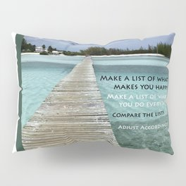 Path to Happiness Pillow Sham