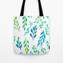 180726 Abstract Leaves Botanical 19|Botanical Illustrations Tote Bag