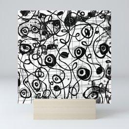 Paths Mini Art Print