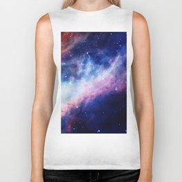 Space Nebula Biker Tank