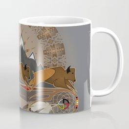 Native American Indian Buffalo Nation Coffee Mug