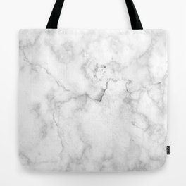 White marble decor | Marble stone | Marble design | White furniture Tote Bag