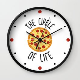 The Circle Of Life Funny Quote Wall Clock