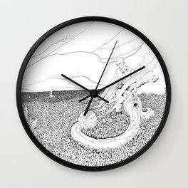 La chute du congre Wall Clock