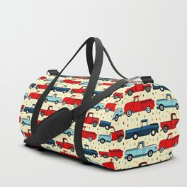 Winter Vintage Trucks Duffle Bag