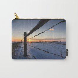Barbed Wire Sunrise Carry-All Pouch