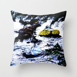 River Sole Throw Pillow