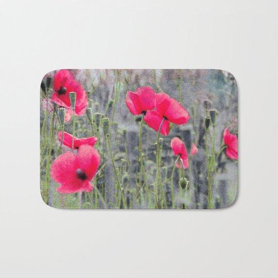 Poppies(mist)2. Bath Mat