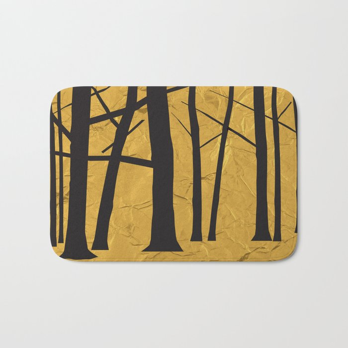 Give the trees as a gift Bath Mat