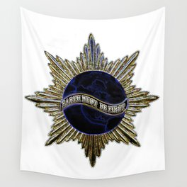 Earth Must Be First For Warriors Wall Tapestry