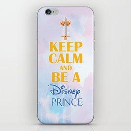 Keep Calm & be a Prince iPhone Skin