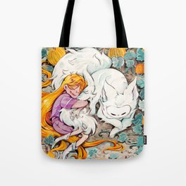 Jack and Lio Tote Bag