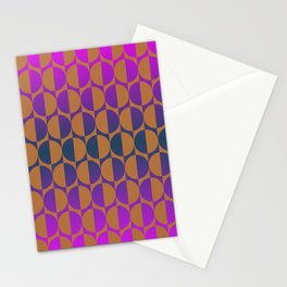 1974, magenta and brown Stationery Cards