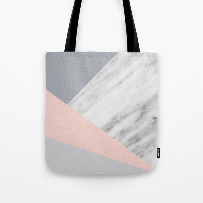 Scandi Collage Tote Bag