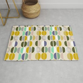 Semicircles - so simple and so cool Rug