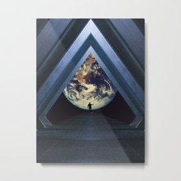 Heading Home to Earth Metal Print