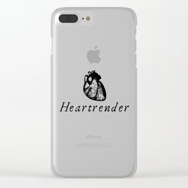 Heartrender Clear iPhone Case