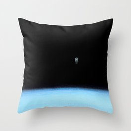 Spacewalk 10.1 Throw Pillow