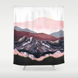 Wine Hills Shower Curtain