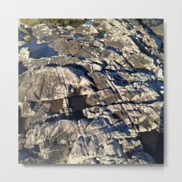 Bedrock Metal Print