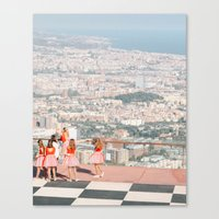 Canvas Prints featuring Barcelona ballet by TOM MARGOL