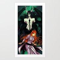 bleach Art Prints featuring Bleach by AlcoholicRattleSnake