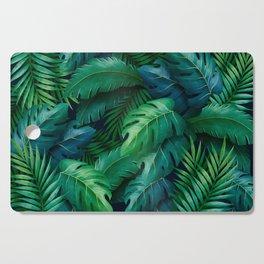 Tropical Leaves Cutting Board