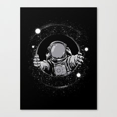 Black Hole Canvas Print