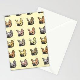 Grumpy Bulldogs Stationery Cards