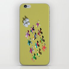 Break the mold (handicap) iPhone & iPod Skin
