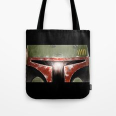 Boba Fett. Close up. Tote Bag