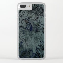 Mix Night Clear iPhone Case