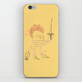 """""""Jumpsuit King"""" Collab with Brian Charles Egan iPhone Skin"""