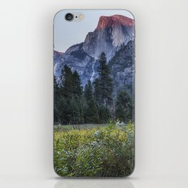Light setting on Half Dome l iPhone Skin
