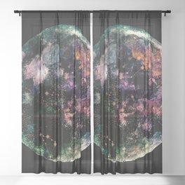 New Moon Sheer Curtain