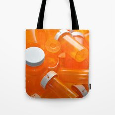 Pill Bottles Tote Bag