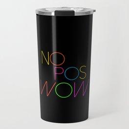 NO POS WOW Travel Mug