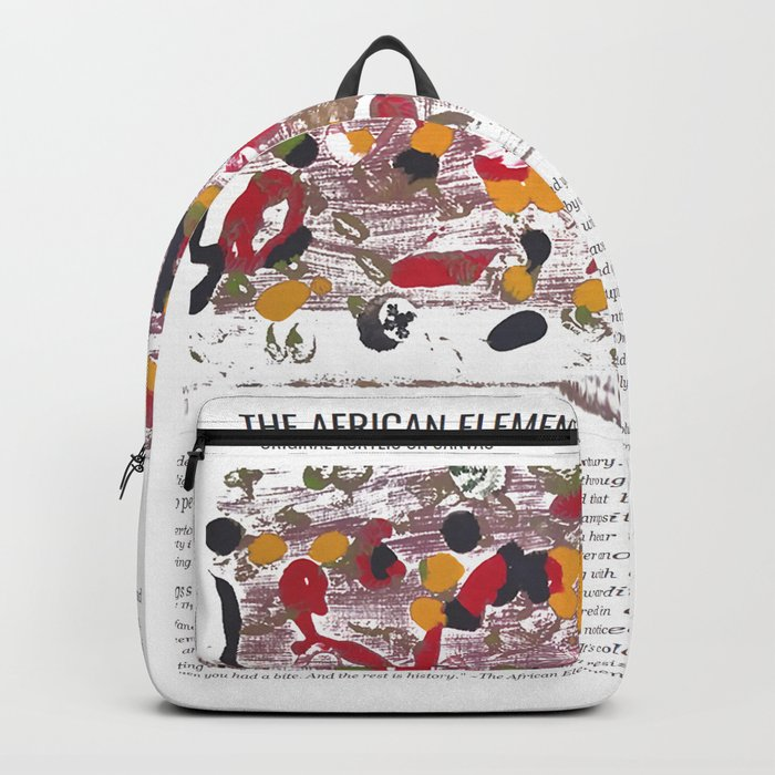 The African Element / Art Stories Backpack