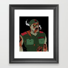 Sgt Hatred Framed Art Print