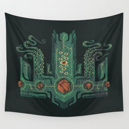 The Crown of Cthulhu Wall Tapestry