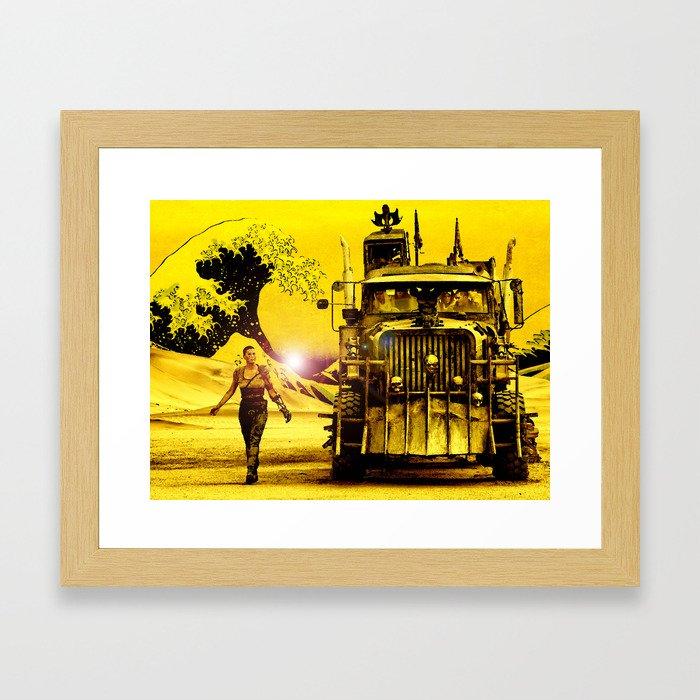 Furiosa - Mad Max Fury Road Framed Art Print