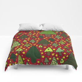 Small Trees Comforters