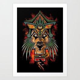 Quetzalcoatl Art Print