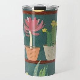 Cactus and Succulent Calendar 217 Travel Mug