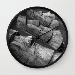 The Maoi Wall Clock