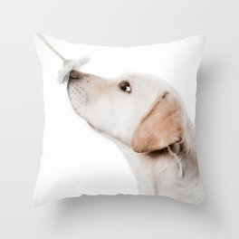 smell this Throw Pillow
